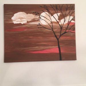 Acrylic art on canvas